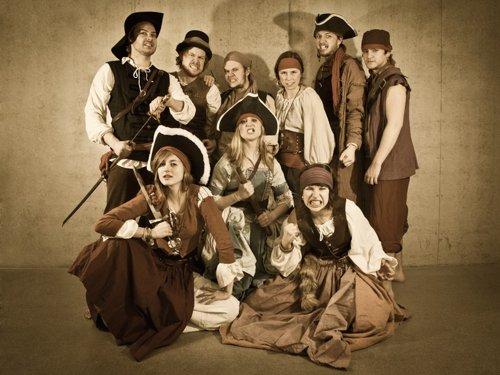 Pirater! Sommerteatret 2011 i Oslo